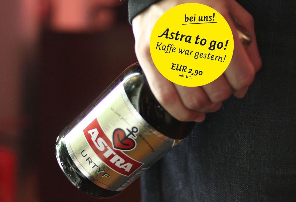 Astra Bier to go!