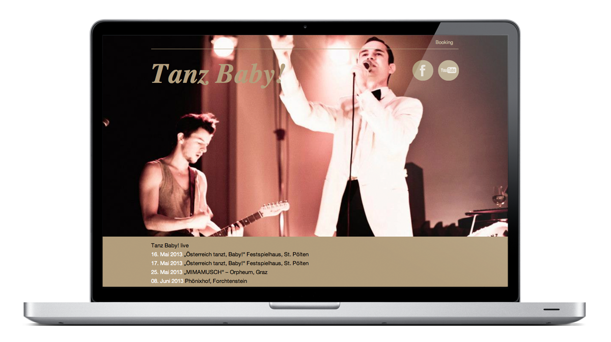 Tanz Baby! Homepage 2013