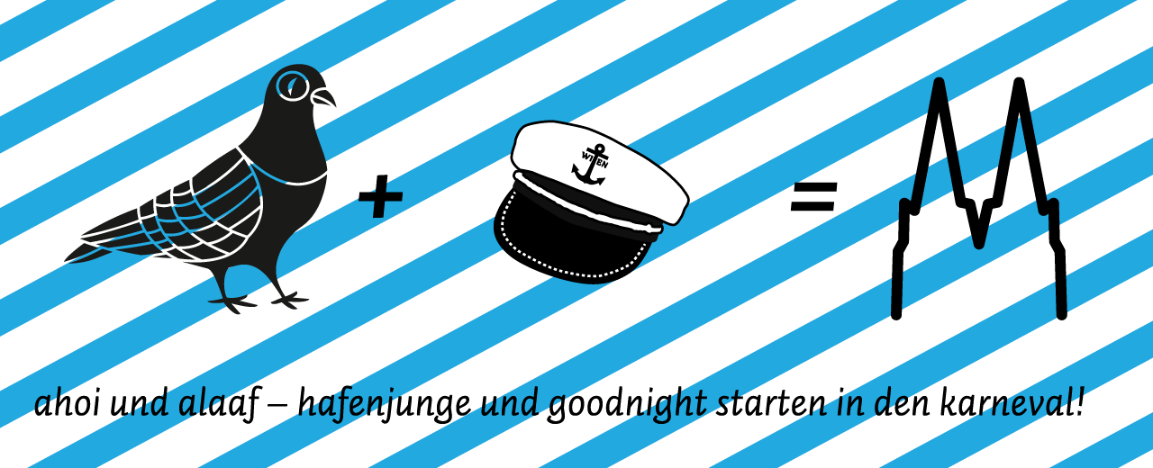goodnight und hafenjunge starten in den karneval